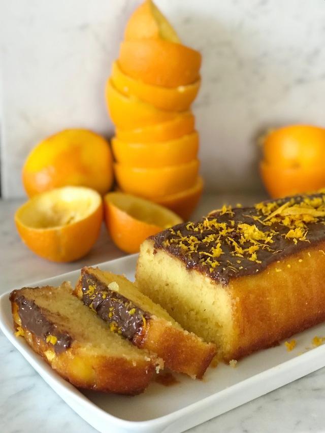 Cake A L Orange Avec Tres Peu De Beurre